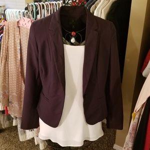 Worthington Purple Blazer